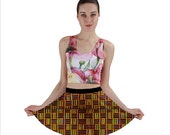 African Kente Mini Skirt