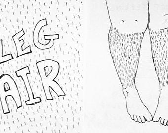 Leg Hair Zine