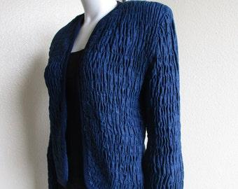 vintage 80s denim jacket- Bis for Neiman-Marcus medium