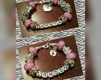 Big Sister and Baby Sister Bracelets