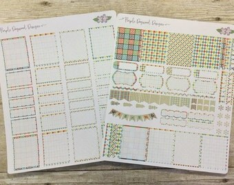 Boys will be boys life planner stickers kit 3 * Retiring this Summer*