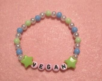 Vegan Beaded Bracelet