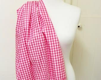 100% Cotton // Michael Miller Pink Gingham