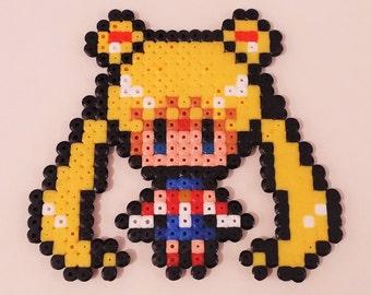 Sailor Moon Usagi Pixel Art beading beads
