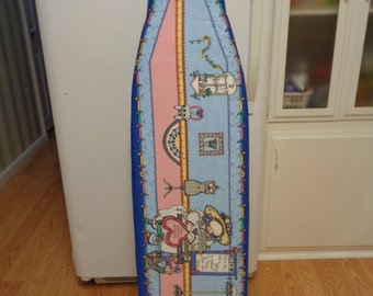Ironing Board cover, fitted to your ironing board.( need the length and width of your board0