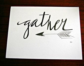 Artisan Print - Gather