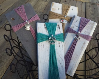 Twine Wrapped Cross