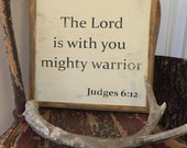 "Judges 6:12 ""Mighty ..."