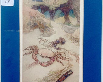Warwick Goble illustration from The Water Babies.