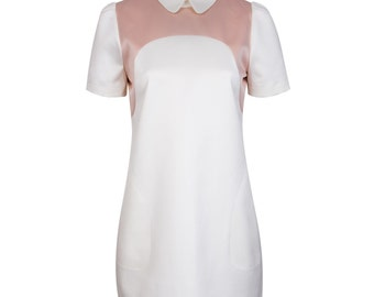 Bi-color uniform dress