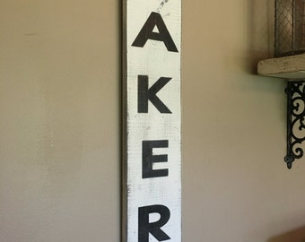 Bakery Kitchen Dining Room Sign