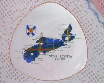 Vintage plate Nova Scotia