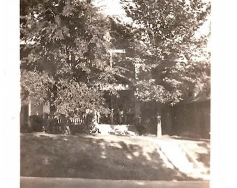 Antique Photo, House in the Trees, 1932