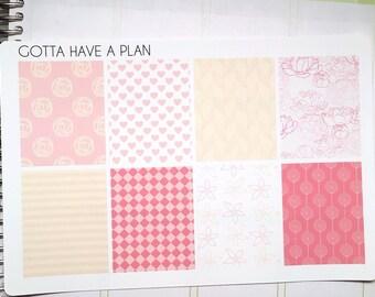 Planner Stickers Unicorn Breath Full Box for Erin Condren, Happy Planner, Filofax, Scrapbooking