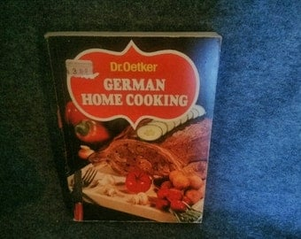 Dr Oetker, Cookbook German Food