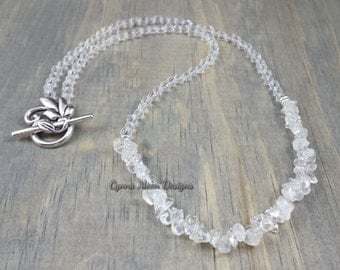 Quartz Necklace (April Birthstone)