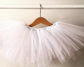 Winter White Tutu Skirt