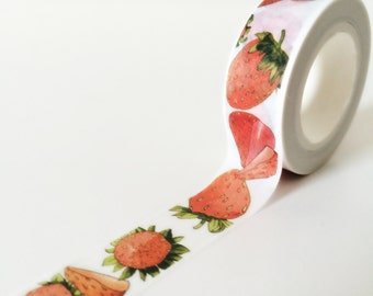 Strawberry picnic washi tape