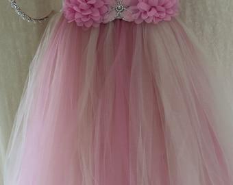 PINK TUTU DRESS size 3T to 5T
