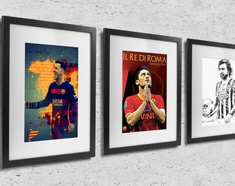 Football Legends (3 Posters)