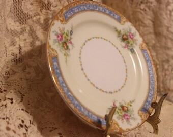 Rare Noritake Blue Dawn #622 bread and butter plate