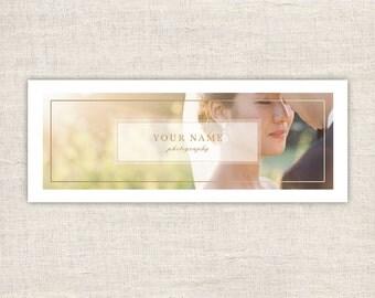 Facebook Timeline Cover for Wedding Photographers - Facebook Photography Timeline Cover Template - Timeline Template - INSTANT DOWNLOAD