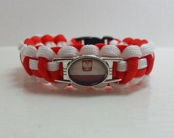 Poland Polska bracelet