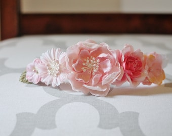 Baby and Toddler Flower Crown Headband