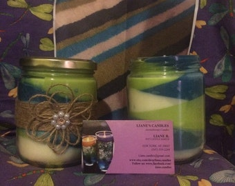 Mix scent 100% soy candles