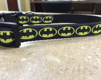 Little 3/4 inch Batman Collar