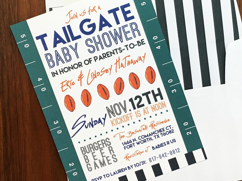 Dorable Nfl Party Invitations Photos Invitation Card