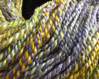 Henri James - 2ply - true worsted hand spun hand dyed