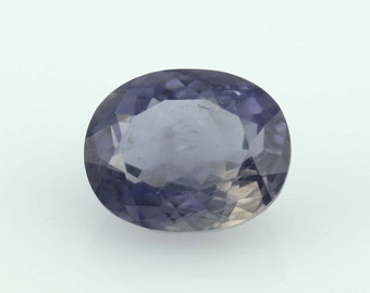 4.40 Cts. Natural Iolite Oval purple Loose gemstone  for jewelry