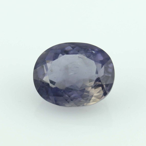4 40 cts iolite oval purple gemstone for