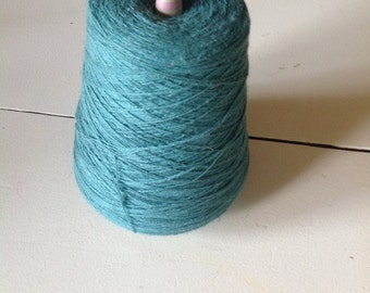 Bright Teal Weaving Yarn