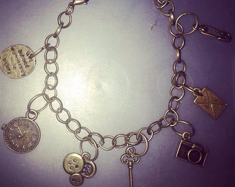 Antique themed charm bracelets
