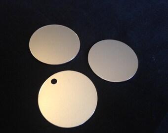 16 Gauge - Aluminum Round Stamping Discs, Aluminum Round Blanks, Round Stamping Blanks, Stamping Blanks Co.