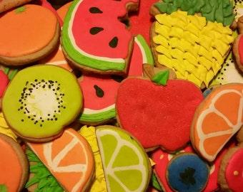 Fruit cookies! (12 cookies)