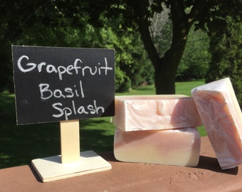 Grapefruit Basil Splash Soap