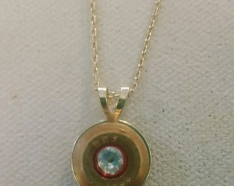 Bullet Necklace, Bullet Jewelry, Unique Necklace, Western Jewelry, Cowgirl Necklace, Ammo Necklace, Bullet Bling, Upcycled Jewelry, Bullets