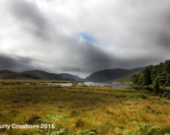 Photograph of hills of Donegal/Ireland/Irish landscape/Irish print/Donegal print/Irish wall art/Irish countryside/photo of Ireland/wall art