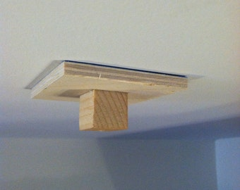 Cat Pole stick-on alignment block.