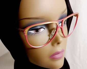 Vintage Eyeglasses, Unique,  Handmade in West Germany