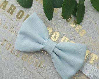 Boys baby blue bow tie. Boys blue bow tie, Baby blue bowtie, boys summer bow tie