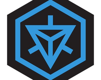 Ingress Resistance Hexagon Vinyl Sticker