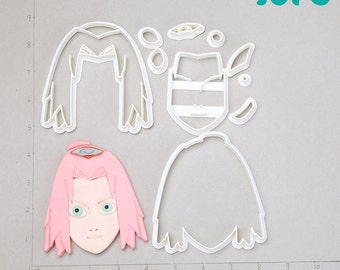Sakura Fondant Cutter  sakura bloom,sakura cosplay,sakura earrings,sakura jewelry,