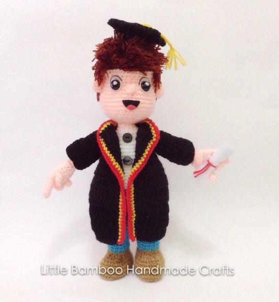 PATTERN - The Graduation doll - Crochet Pattern, pdf from ...
