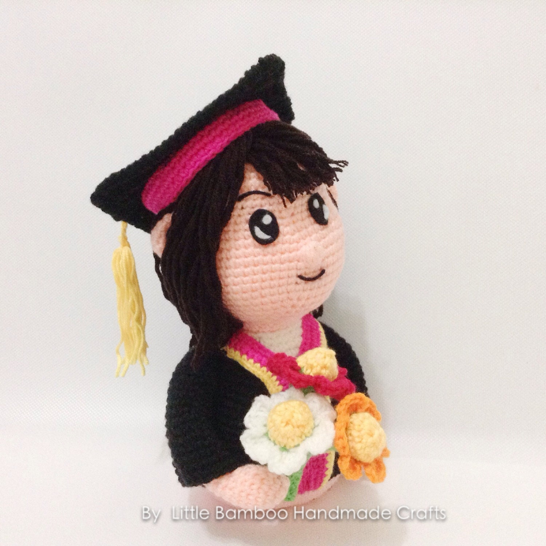 PATTERN Graduation Couple Crochet by LittleBambooHandmade