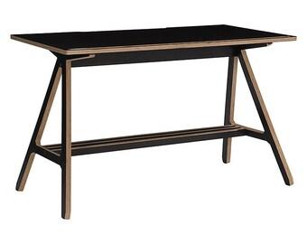 Chaplin: Desk - Solid wood - Plywood