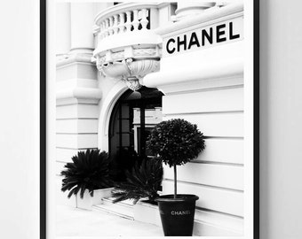 Chanel print, Chanel photo, Fashion art, Modern art, Wall decor, Digital art, Printable, Digital poster Instant Download 8x10, 11x14